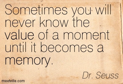memories - Dr Suess