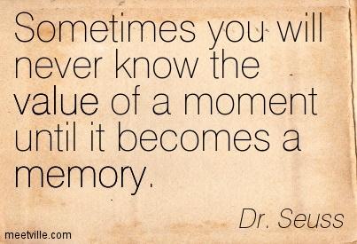 memories - Dr Suess
