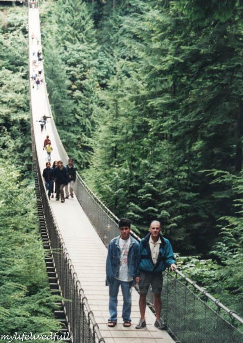 V = Vancouver, Capolano Bridge
