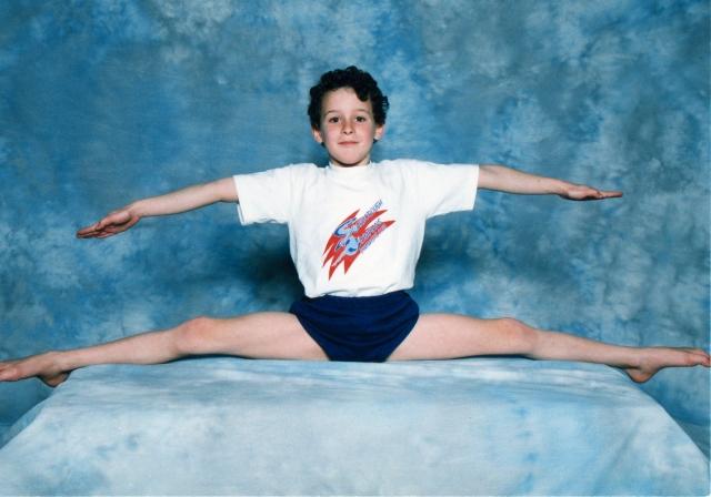 Misha - gymnastics