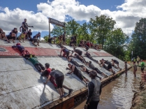 Tough Mudder Pyramid Obstacle