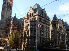 In the fading afternoon light, Old City Hall is as beautiful as ever.