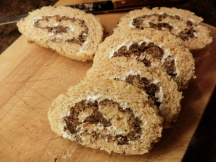 S'Mores Rice Krispie Rolls - were you expecting soup?