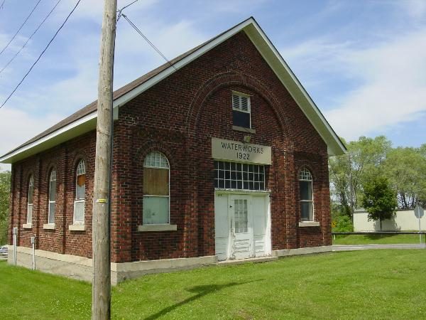 water works building Penetanguishene