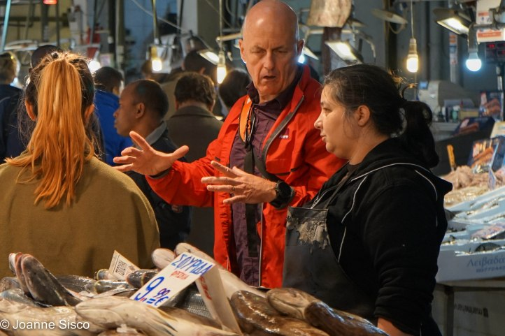 Greece - Gilles fish mkt
