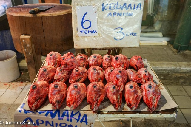 Greece - meat market_
