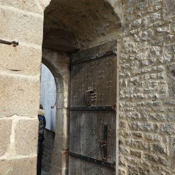 Mont St-Michel - door